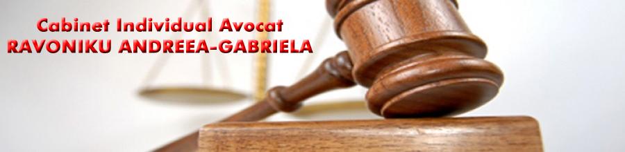 Cabinet Individual Avocat RAVONIKU ANDREEA-GABRIELA Logo