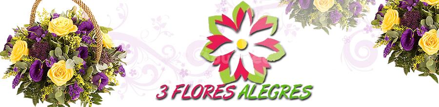 3 Flores Alegres Logo