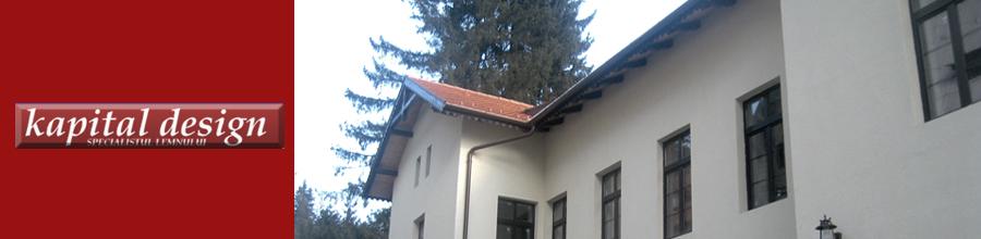 Kapital Design 2008 - Tamplarie lemn stratificat, Urlati / Prahova Logo