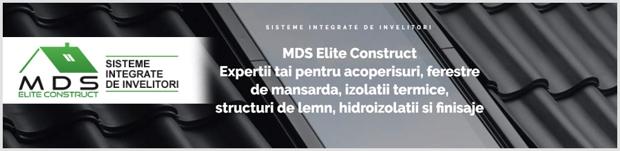 MDS Elite Construct, Bucuresti - Comercializare si montaj acoperisuri Logo