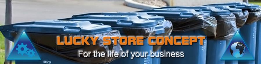 Lucky Store Concept Logo