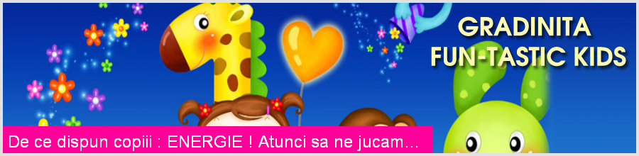 Fun-Tastic Kids, Gradinita & After School - Bucuresti Logo