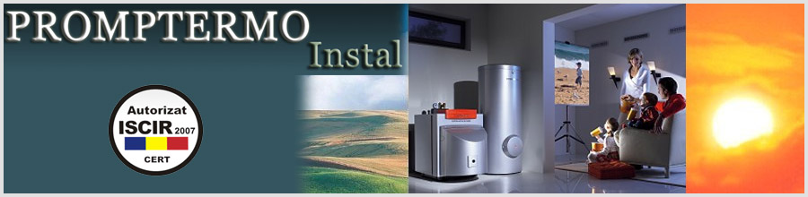 Promptermo Instal,Bucuresti - Instalare si service centrale termice Logo