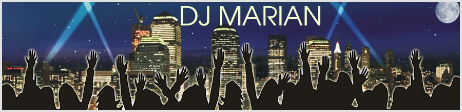 DJ MARIAN Logo
