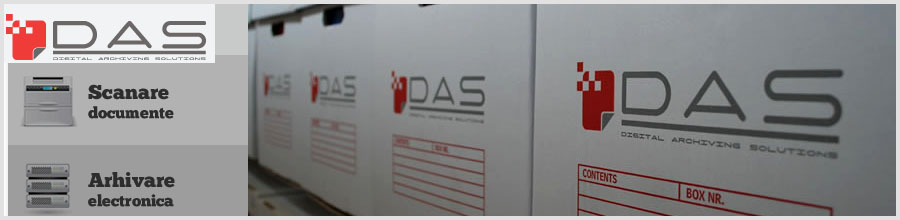 Digital Archiving Solutions - DAS Logo