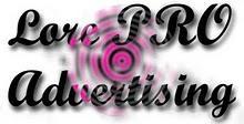 LORE PRO ADVERTISING Logo