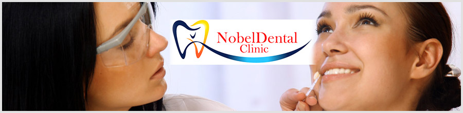 NOBEL DENTAL CLINIC Logo