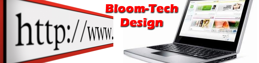 Bloom-Tech Design Logo