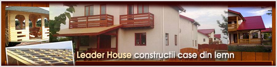 Leader Hiu - Constructi case din lemn, foisoare, pergole, Izvorani / Ilfov Logo