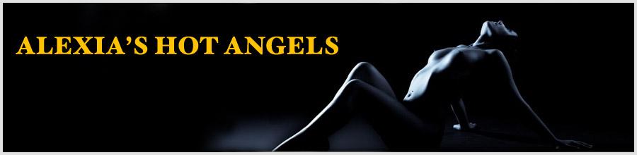 ALEXIA S HOT ANGELS Logo