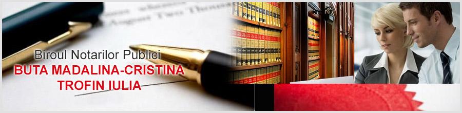 Birou Notarial BUTA MADALINA CRISTINA, VICIU ANCA Logo