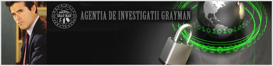 AGENTIA DE INVESTIGATII GRAYMAN Logo