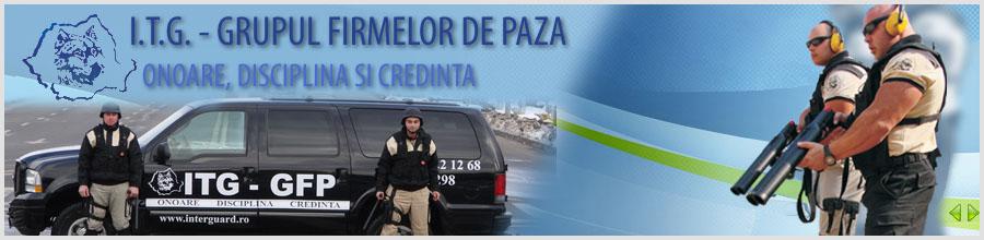 I.T.G. - GRUPUL FIRMELOR DE PAZA Logo