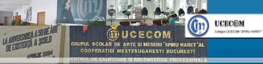Colegiul UCECOM Spiru Haret Bucuresti Logo