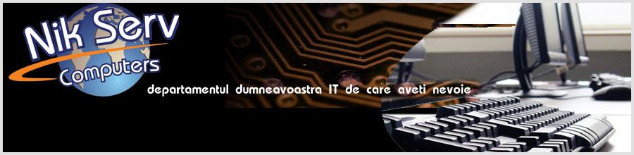 Nik Serv Computer Bucuresti - Depanare calculatoare Logo