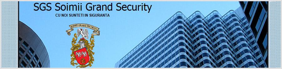 Soimii Grand Security - Agentie Paza si Protectie Bucuresti Logo