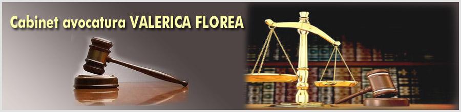 Cabinet avocatura VALERICA FLOREA Logo