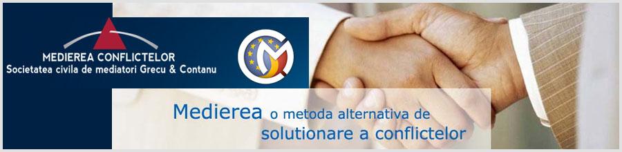 Societate civila de mediatori GRECU & CONTANU Logo