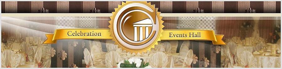 Celebration Events Hall Logo
