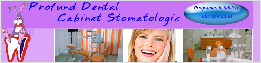 CABINET STOMATOLOGIC PROFUND DENTAL Logo