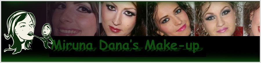 Miruna Dana's Make-up - Machiaj mireasa, machiaj profesional Giurgiu Logo