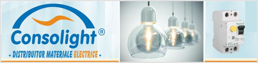 Consolight Com - Distribuitor de materiale electrice si echipamente: cabluri, mufe, prize, Bucuresti Logo