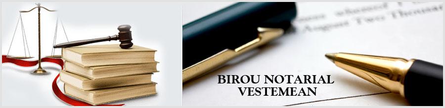 Birou Notarial VESTEMEAN Logo