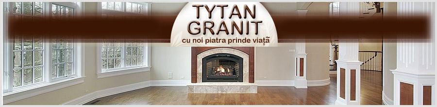 Tytan Granit, Prelucrare, slefuire si montare marmura si granit - Bacau Logo