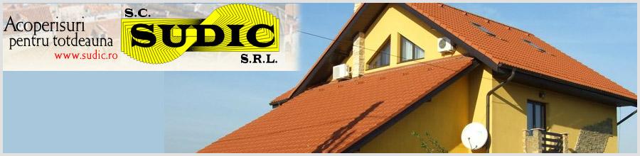 Sudic, Bucuresti - Sisteme de acoperisuri si exterioare Logo