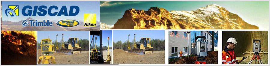 Giscad, comercializare aparatura topografica, servicii scanare 3D - Arad si Bucuresti Logo