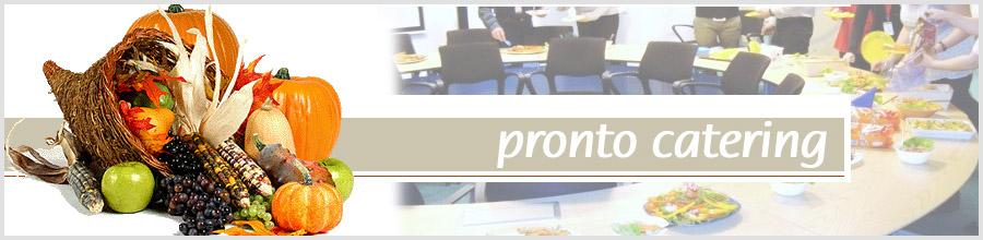 Pronto Catering, Servicii catering - Bucuresti Logo