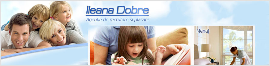 Agentia Ileana Dobre - ingrijire copii si batrani Logo