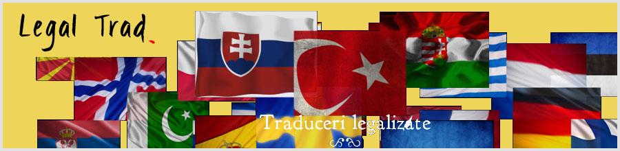 LEGAL TRAD Bucuresti - Traduceri autorizate Logo