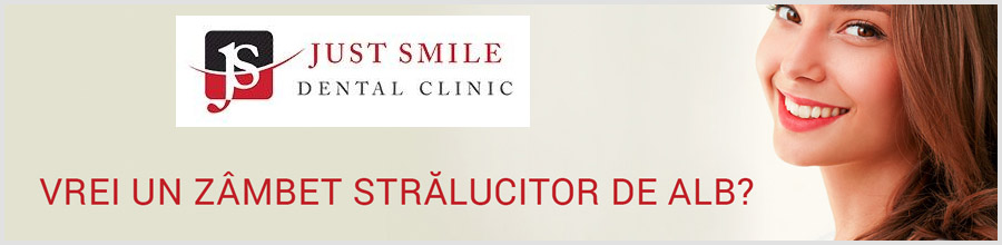 CLINICA STOMATOLOGICA JUST SMILE Bucuresti Logo