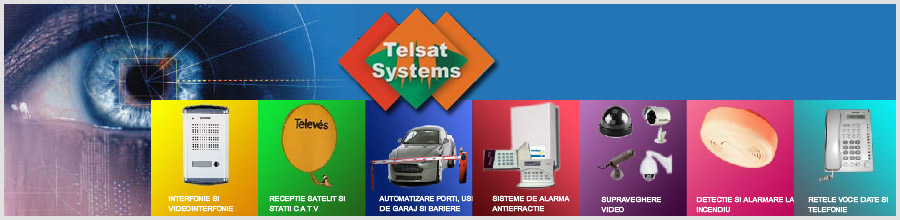 TELSAT SYSTEMS Logo
