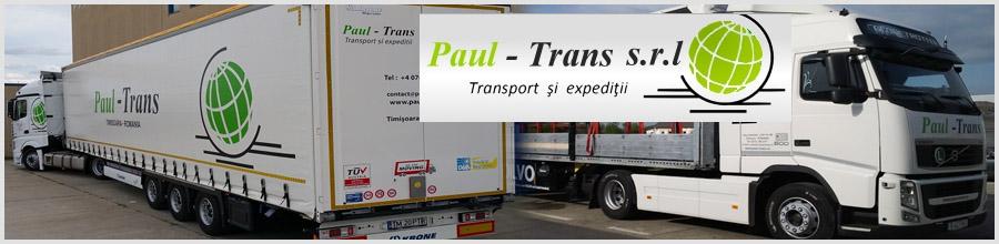 PAUL TRANS Logo