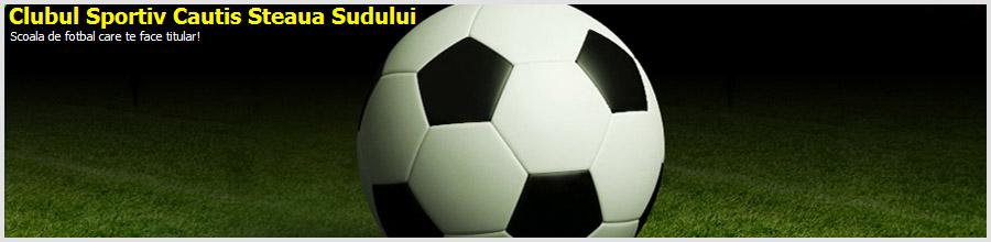 Club Sportiv Cautis Steaua Sudului - Fotbal Bucuresti Logo