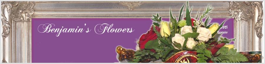 Benjamins Flowers Logo