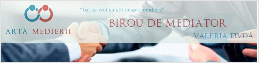 Birou mediator Valeria TIVDA Logo