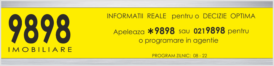 9898 Imobiliare - Agentie imobiliara Bucuresti Logo