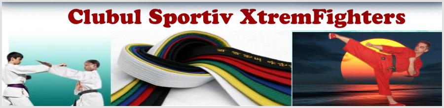 Club Sportiv XtremFighters - Scoala de arte martiale Bucuresti Logo