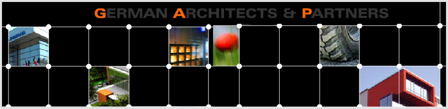 Birou arhitectura GERMAN ARCHITECTS & PARTNERS Logo