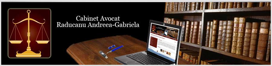 Cabinet Avocat Raducanu Andreea-Gabriela Logo