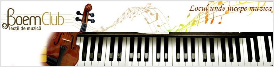 Scoala de Muzica Boem Club Logo