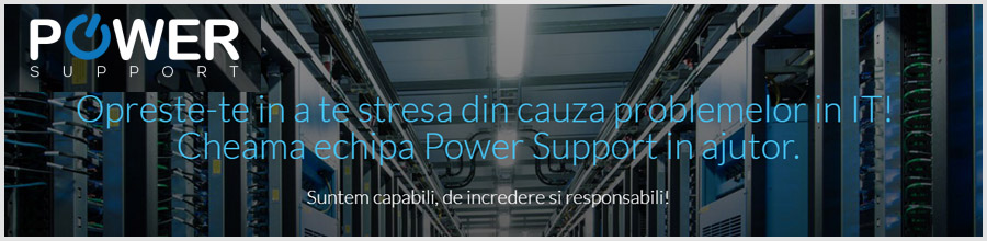 Power Support - Mentenanta calculatoare Bucuresti Logo