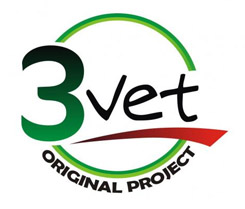 Cabinet Veterinar 3vet Original Project Logo