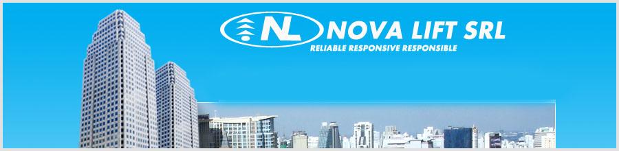 Nova Lift - Ascensoare, scari rulante - Bucuresti Logo