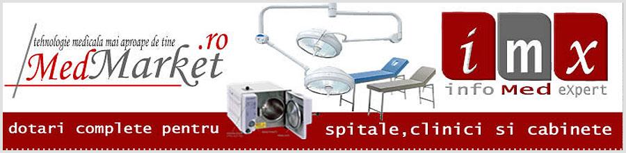 MED MARKET aparatura si instrumentar medical Iasi Logo