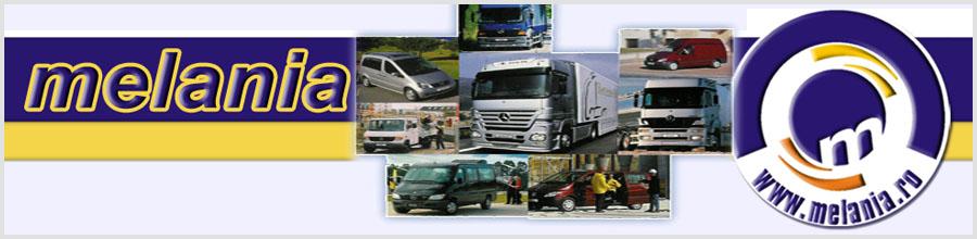 Melania - Rent a Car si service auto, Pitesti Logo