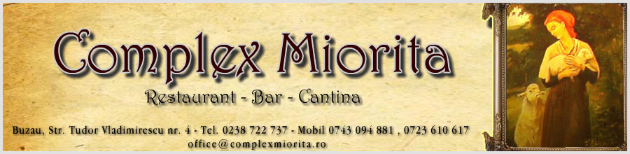 Complex Miorita Buzau Logo